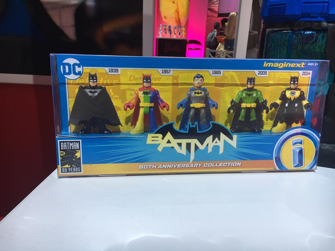 Imaginext Batman 80th Anniversary Line Revealed At Toy