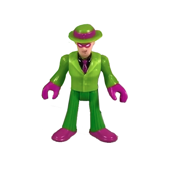 Includes The Riddler™ figure, launcher, question marks and ... |Imaginext Riddler